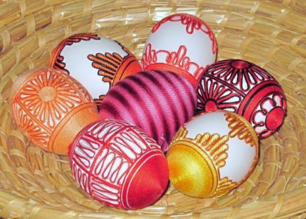 Bavlnkové vajíčko od Mrňús - foto postup