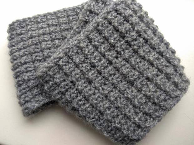 Postup na pletenú čelenku – jednoduchý plastický vzor - foto postup