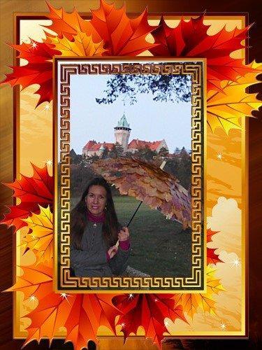 Dáždnik z voskovaných listov  - foto postup