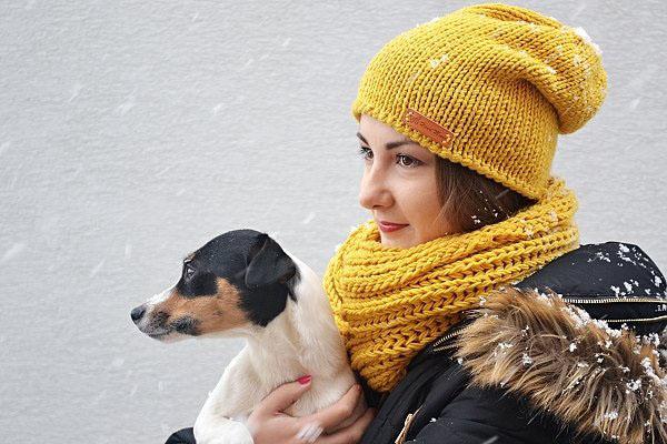 Homeless čiapka obhačkovaná račím stĺpikom - foto postup