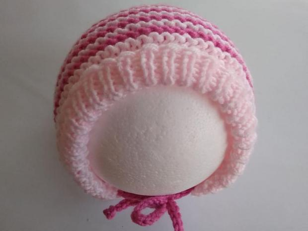 Pletená čiapka pre bábätko - návod