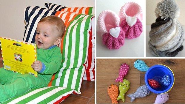 Vianočné darčeky pre malé deti - vyrobte im originál - foto postup