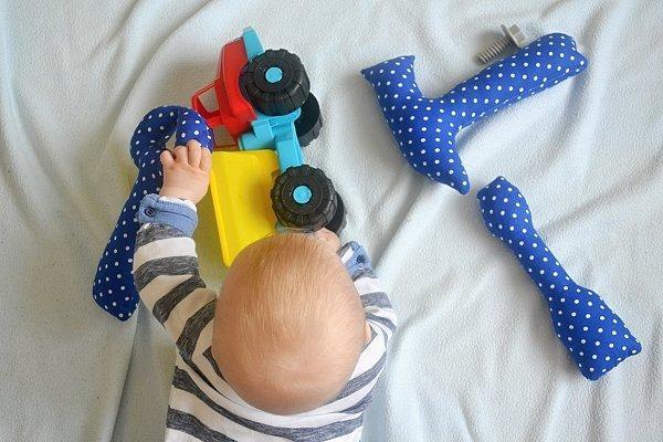 Fotopostup na náradie pre kojencov