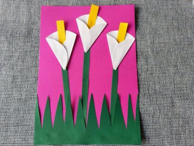 Postup na papierové kaly  - foto postup