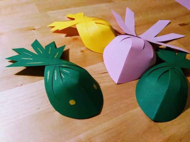 Ako vyrobiť papierovú rybičku | Dzenuska