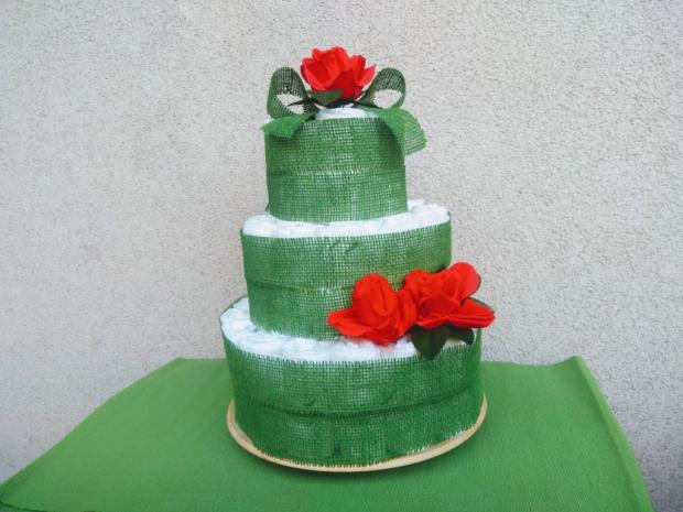 Postup na plienkovú tortu