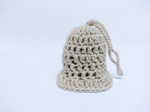 Jednoduchý háčkovaný zvonček pre začiatočníkov