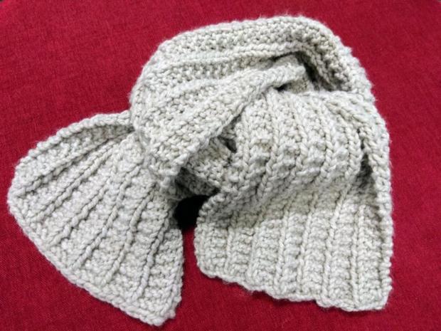 Vzor na maxi šál