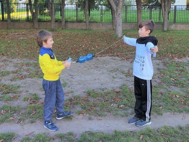 Pomôcka na posilnenie chrbta pre deti - foto postup