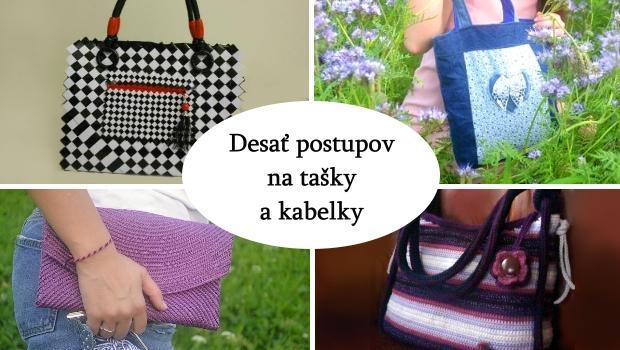 Desať postupov na kabelky a tašky - foto postup