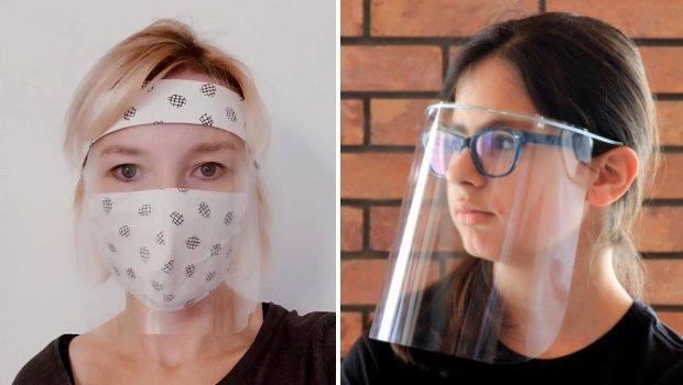 Ako vyrobiť improvizovaný ochranný štít tváre jednoducho a rýchlo - foto postup
