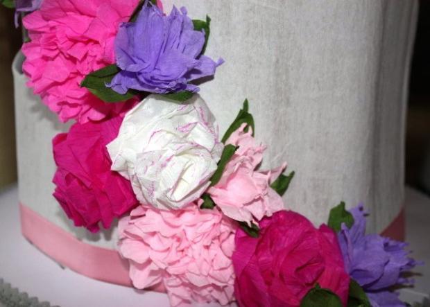 Postup na jednoduchú ružu z papiera