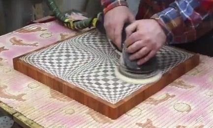 Video: Výroba šachovnicového stola - neverím - foto postup
