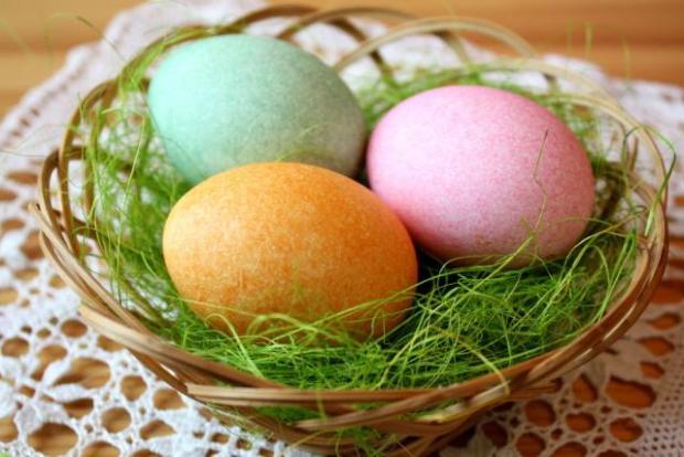 Postup na zábavne zdobenie vajíčok - foto postup