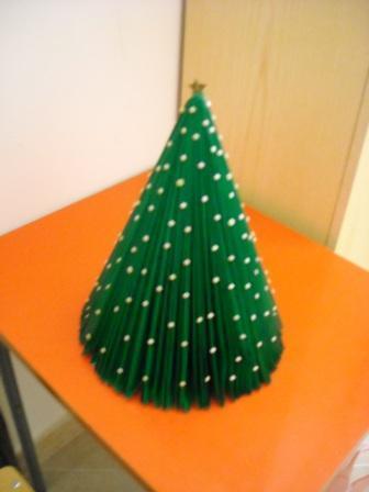Vianočný stromcek z katalógu - foto postup