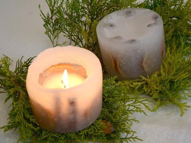 Sviečka, ktorá sa premení na svietnik | Dasa_