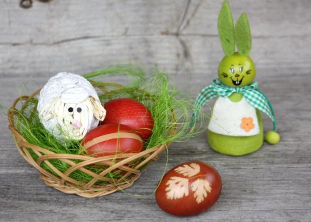 Postup na farbenie vajíčok s deťmi - foto postup