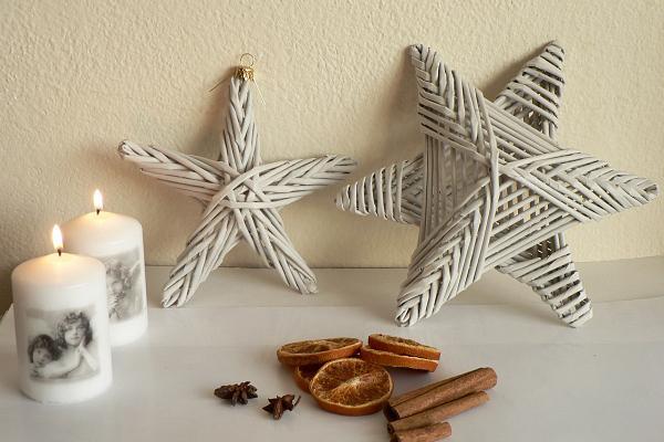 Vianočné hviezdy z papletu, Autor: Dasa_