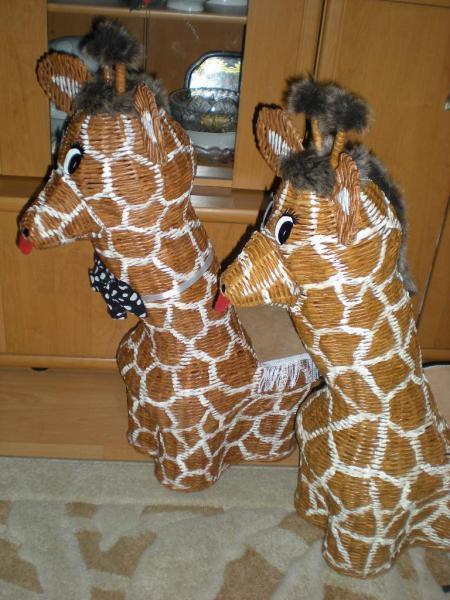 Žirafa  - foto postup