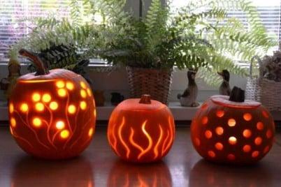 Strašidelné tvorenie na halloween
