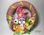 Pepierové pletenie inšpirované jarou a veľkou nocou