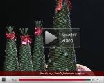Video na stromček - papierové pletenie