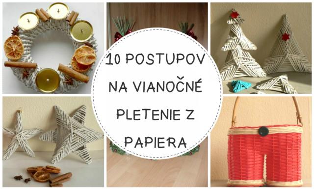 Desať fotopostupov na vianočné dekorácie z papletu ec18878c1b7