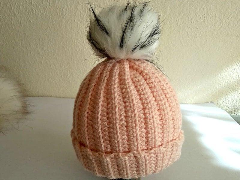 Pletená čiapočka pre bábätko, postup, Dasa_
