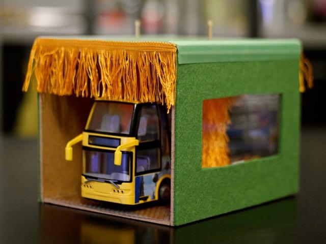 Autoumyváreň na hračkárske autíčka, hračka, návod, SonkaPac